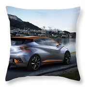 2015 Nissan Sway Concept 3  1 Throw Pillow