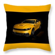 2015 Saleen Mustang S302 Black Label  Throw Pillow
