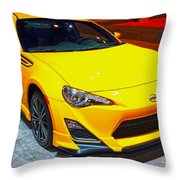 2015 Scion Fr-s Number 2 Throw Pillow