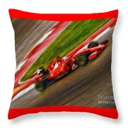 2015 Sebastian Vettel  Throw Pillow