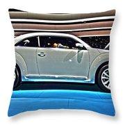 2015 Volkswagen Beetle Throw Pillow