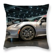 2016 Alfa Romero 4c Spider Throw Pillow