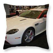 2016 Aston Martin Vantage Gt Coupe Throw Pillow