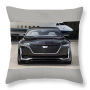 2016 Cadillac Escala Concept 3 Throw Pillow