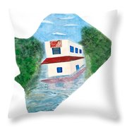 2016 Dc Ward Story Collection - Ward 7 Of 8 Throw Pillow