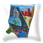 2016 Dc Ward Story Collection - Ward 8 Of 8 Throw Pillow
