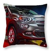 2016 Fiat 500x Throw Pillow