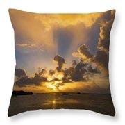 2016 First Sunrise 2 Throw Pillow