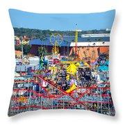 2016 Florida State Fair Throw Pillow