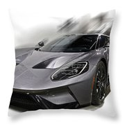2016 Ford Gt  No 2 Throw Pillow