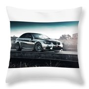 2016 Fostla De Bmw M3 Coupe 2 Throw Pillow