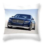 2016 Lincoln Continental Concept Throw Pillow