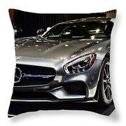 2016 Mercedes-amg Gts Throw Pillow