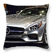 2016 Mercedes-amg Gts No 1 Throw Pillow