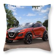 2016 Nissan Gripz Concept 3 Wide Throw Pillow