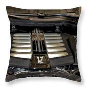 2016 Rolls Royce Wraith Engine Throw Pillow