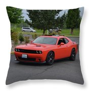 2016 Scat Pack Lopez Throw Pillow