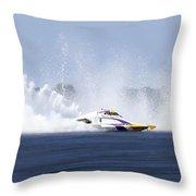 2016 Taree Race Boats 01 Throw Pillow