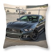 2016 Vorsteiner Ford Mustang Gt V Ff 101 Throw Pillow