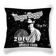 2016 World Tour Throw Pillow