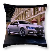 2017 Bmw M7 Throw Pillow