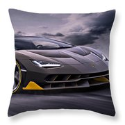 2017 Lamborghini Centenario Throw Pillow