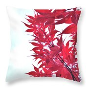 2017 Red Maple 3 Throw Pillow