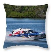 2017 Taree Race Boats 01 Throw Pillow