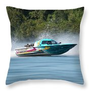 2017 Taree Race Boats 08 Throw Pillow