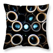 2017_05_midland Tx_drill Pipe Lights 3  Throw Pillow
