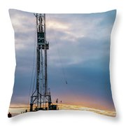 2018_02_pecos Tx_cactus 153 8 Throw Pillow