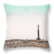 2018_04_orla Tx_cactus 153 2 Throw Pillow
