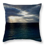 At Landscape Throw Pillow