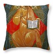 Jesus Christ Christian Art Throw Pillow