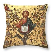 jesus Christ Son Of God Throw Pillow