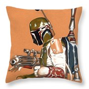 Star Wars Episode 1 Art Throw Pillow
