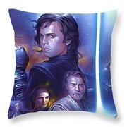 Star Wars For Art Throw Pillow