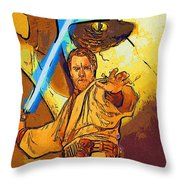 Star Wars Galactic Heroes Poster Throw Pillow