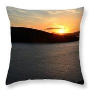 Sunset Dingle Throw Pillow