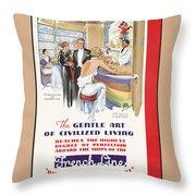 Public Domain Images Throw Pillow