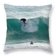 Australia - The Surfer Throw Pillow