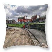 Birmingham England United Kingdom Uk Throw Pillow