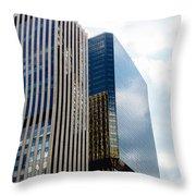 Denver Building Study Throw Pillow