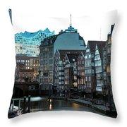 Hamburg - Germany Throw Pillow