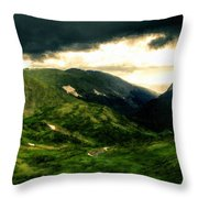 In The Landscape Throw Pillow