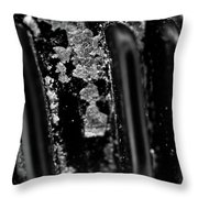 Macro Of Everyday Object Throw Pillow