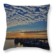 22- Magical Sunrise Throw Pillow