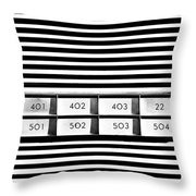 22 Odd One Out Throw Pillow