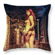 Shay Hendrix Throw Pillow