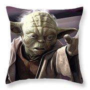 Star Wars On Art Throw Pillow